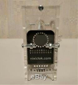 100% ASSEMBLED Ice tube clock IV-18 VFD nixie steampunk Adafruit clock vintage