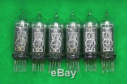 100x IN-14 USED nixie TESTED tubes for clock IN14 GARANTY WORKING