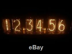 25 x IN-18 NIXIE TUBES matched for clock DIY NEW & TESTED FACTORY BOX