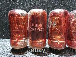 5Pcs ZM1040 Philips, Clock tube, Nixie tube, 1Pcs ZM1041 Philips