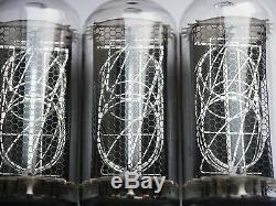6 pcs IN-18 IN18 Big Nixie Tubes for clock NEW NOS 100% Tested SameDate from box