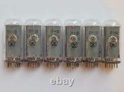 6pcs In-18 In18 In 18 Nixie Display Tubes For Nixie Clock! Tested 100%! Otk