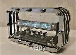 ASSEMBLED Ice tube clock IV-18 VFD nixie steampunk Adafruit clock home decor