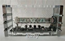 Adafruit Ice tube clock VFD IV-18 nixie era clock tubes steampunk clock vintage