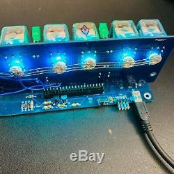Amazing Handmade ITS1A ITS-1A rare nixie tubes clock with lot of functions