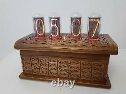 Artisan Nixie clock IN18 tubes