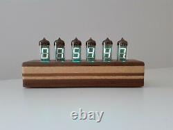 Blue Cake model IV11 VFD tubes Alarm Clock Wi-Fi synchronization Monjibox Nixie