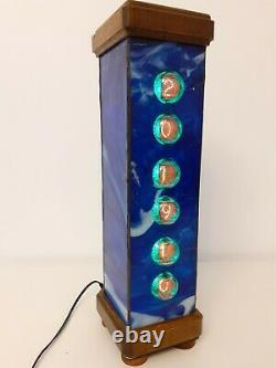 Blue London Nixie clock with Z560M tubes by Monjibox