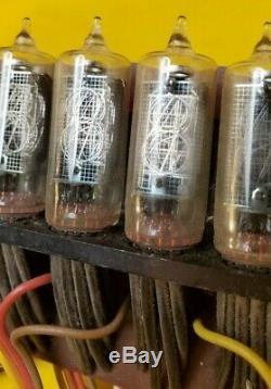 CD81 Japan Hitachi Nixie Indicator Röhre Tube Clock DIY Ultrarare 16pcs