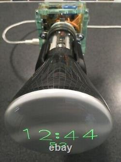 Cathode Ray Tube Nixie Clock Art Deco Vintage Unique Design CRT Valve