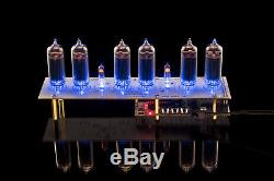 DIY KIT for IN-14 Nixie Tubes Clock PCBs+ALL Parts WITH TUBES GRA&AFCH