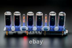 DIY KIT for IN-18 Arduino Shield Nixie Tubes Clock with Columns TUBES OPTIONAL