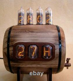 Dual Display combo Nixie Clock Thermometer Hygrometer IN12 IN14 tubes Monjibox