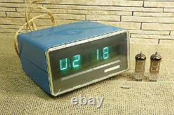 ELEKTRONIKA 6. USSR /Russian VFD NIXIE TUBE clock + 2 Nixie Tube (24)