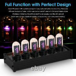 EleksTube IPS RGB Nixie Tube Clock Glow Tube Clock Customized Dial Styles Gifts