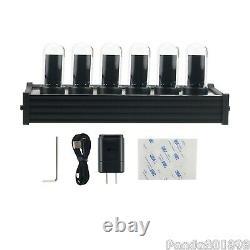 EleksTube IPS RGB Nixie Tube Clock Glow Tube Clock Customized Dial Styles paDE