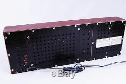 Große UHR Elektronika 7-06K Wanduhr Nixie Wall Clock VFD Tube a 7 USSR