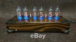 Handmade Vintage Nixie Tube Clock With Easy Replaceable IN-14 Russian Tubes #1
