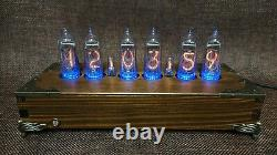 Handmade Vintage Nixie Tube Clock With Easy Replaceable IN-14 Russian Tubes #2