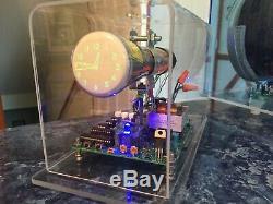 Homemade Mini Oscilloscope Clock 2AP1 2 CRT Cathode ray tube Scope Nixie