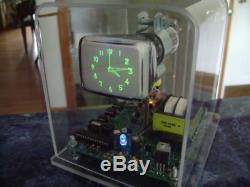 Homemade Mini Oscilloscope Clock 6Lo1i 2 CRT Cathode ray tube Scope Nixie