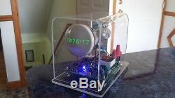 Homemade Mini Oscilloscope Clock DG7-6 3 CRT Cathode ray tube Scope Nixie