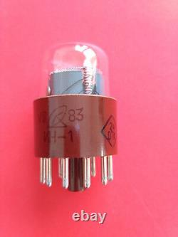 IN-1 IN1 -1 large nixie tube for clock soviet ussr lamp NEW NOS 25pcs