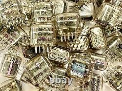 IN-12A/B IN12A/B -12/B Gazotron, NEW, Nixie tubes for Clock, LOT 110 PCS