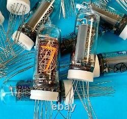 IN-14 -14 IN14 GAZOTRON. Nixie tubes for clock. New. Same date. Lot 44 pcs