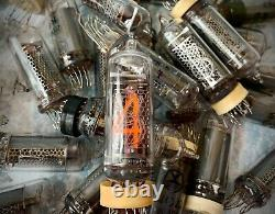 IN-14 -14 IN14 GAZOTRON. Nixie tubes for clock. Used. Tested. Lot 50 pcs