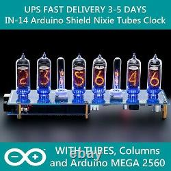 IN-14 Arduino Shield Nixie Tubes Clock Tubes Columns Arduino Fast UPS Delivery