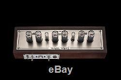 IN-14 Fine Grid, Vintage NIXIE Tubes Clock, USB, Divergence Meter GRA&AFCH