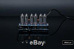 IN-14 NIXIE TUBE CLOCK ASSEMBLED WITH ADAPTER 6-tubes without enclosure retro