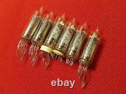 IN-16 IN16 Nixie Tube ussr vintage lamp for clock Diy USED TESTED 100pcs