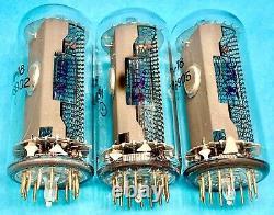IN-18 IN18 -18 Gazotron, Nixie tube for clock, Used, Lot 8 pcs