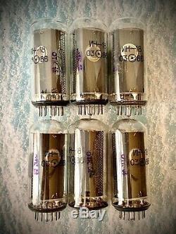 IN-18 IN18 -18 Nixie tube for clock, Vintage, Same date, Lot 6 pcs