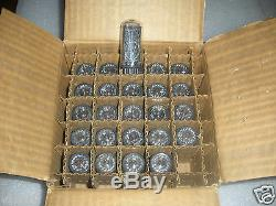 IN-18 NIXIE TUBE IN18 TESTED FOR NIXIE CLOCK NOS! LOT OF 25Pcs