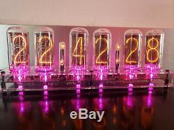 IN-18 Nixie Clock Assembled NOS Tubes Largest Nixie Tubes Available! Vintage