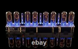 IN-18 Nixie Clock (With 8 Tubes Included) Yes Milliseconds