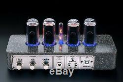 IN-18 Nixie Tubes Clock Synthetic Granite Case GPS 4 Tubes Delivery 3-5 Days