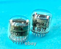 IN4 IN-4 -4 NIXIE INDICATOR TUBE FOR CLOCK, Used, Lot 96 pcs