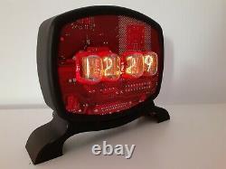 IT Man Nixie Clock IN12 tubes handmade by Monjibox
