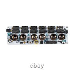 IV-11(-11) Nixie Tube Alarm Clock VFD Display Date/Temp/ Alarm/Remote DIY KIT