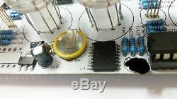 IV-11 VFD CLOCK DIY KIT WITH REMOTE AND ALARM with 6pcs IV11 vfd tubes nixie era