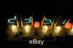 IV-11 VFD CLOCK WITH REMOTE AND ALARM with 6pcs IV11 vfd tubes nixie era DIY KIT