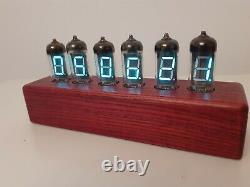 IV11 tubes (Nixie era) Wi-Fi sync Alarm Clock Monjibox Nixie color Red