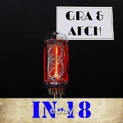 In-18 Nixie Tube For Nixie Clock New Tested Numeric Gazotron 1 Pc