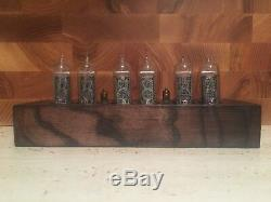 In14 nixie tube clock amber vintage cool gift very good Christmas gift clock
