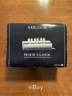 Karlsson Peter van der Jagt Nixie Clock RARE