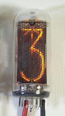 Lot of 6 pcs IN-18 Large Nixie Tubes for Clock New Tested